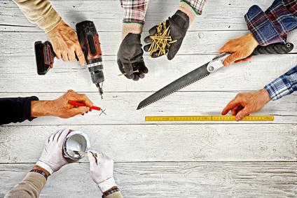 Verschiedenes Werkzeug